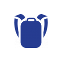 Icon of a backpack