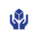 Icon of hands holding a block